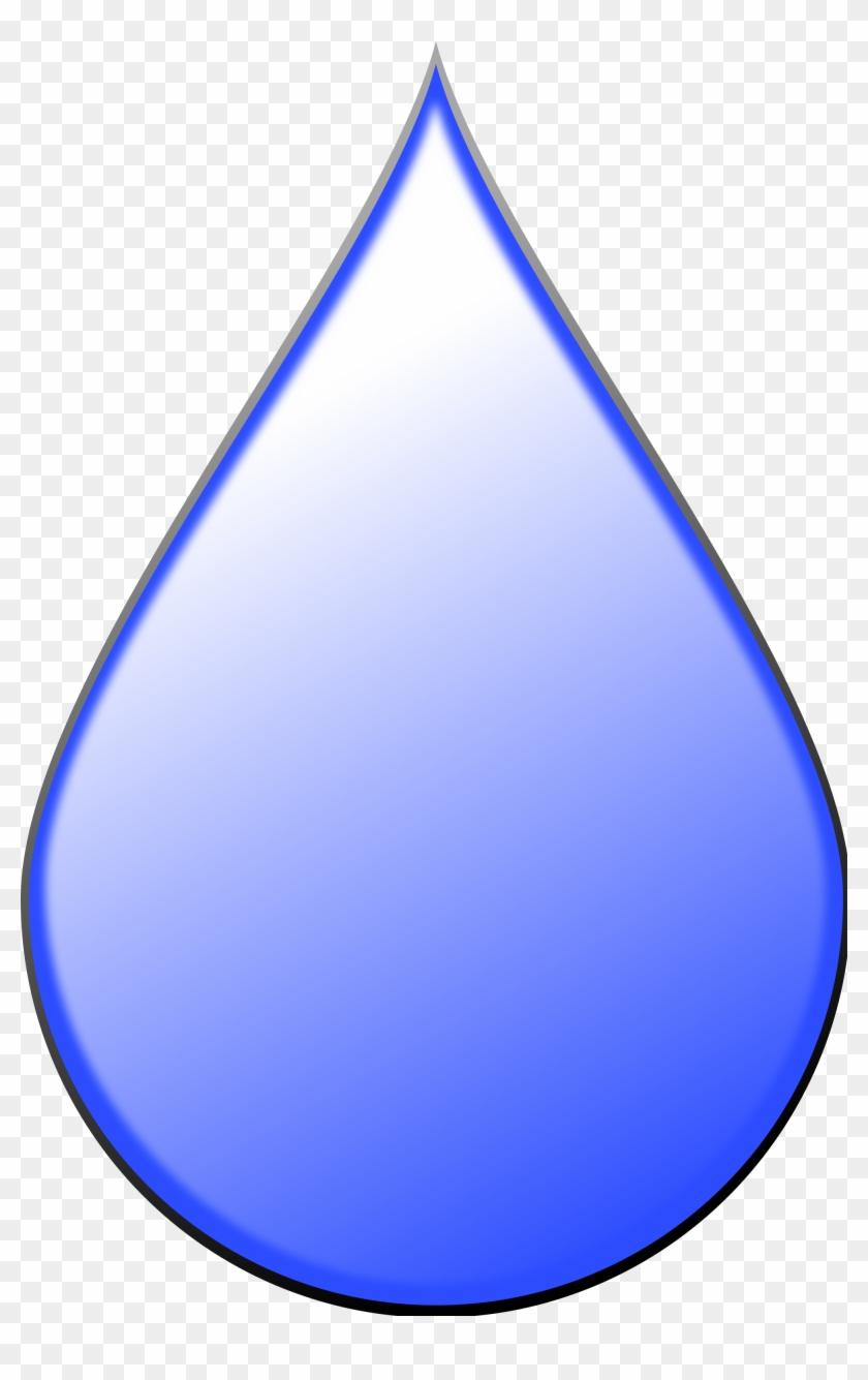 File Glossy Raindrop Svg Mediamons Clip Art - Raindrop Shape #121989