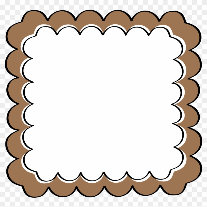 Brown Border Clipart - Paparazzi Mystery Grab Bag #122038
