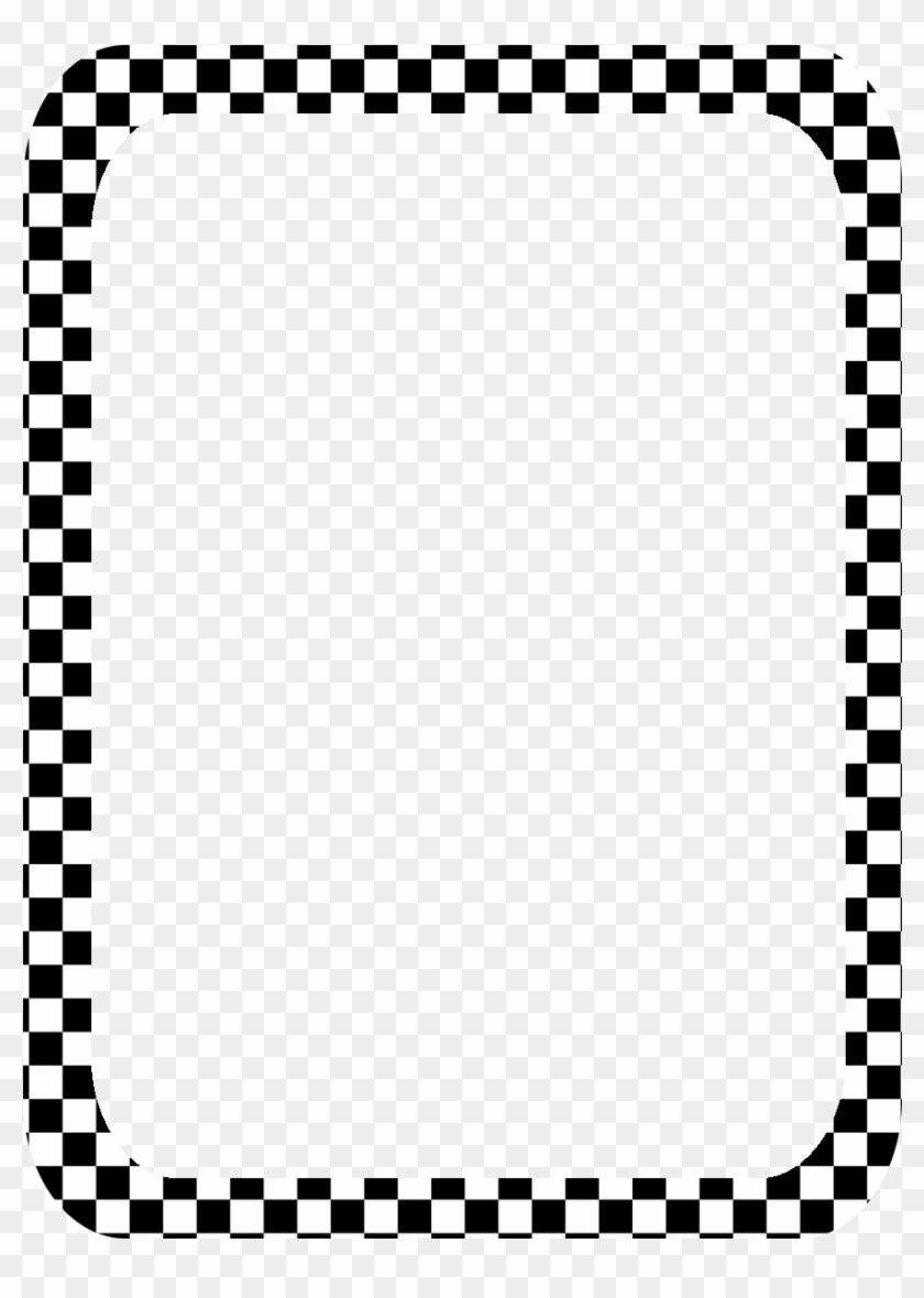 Images For Checkered Border - Checkered Borders #122046