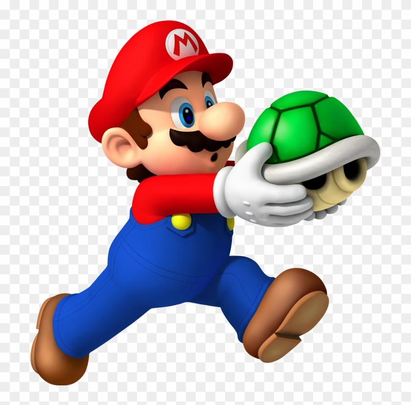 Mario Clip Art - Super Mario Bros Wii Png #122076