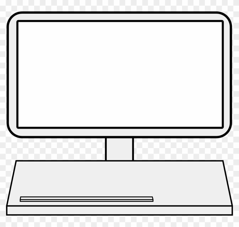 Computer Screen Clip Art - Computer Monitor #122134