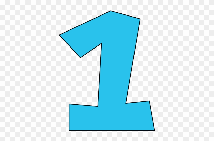 Number 1 Clipart #122216