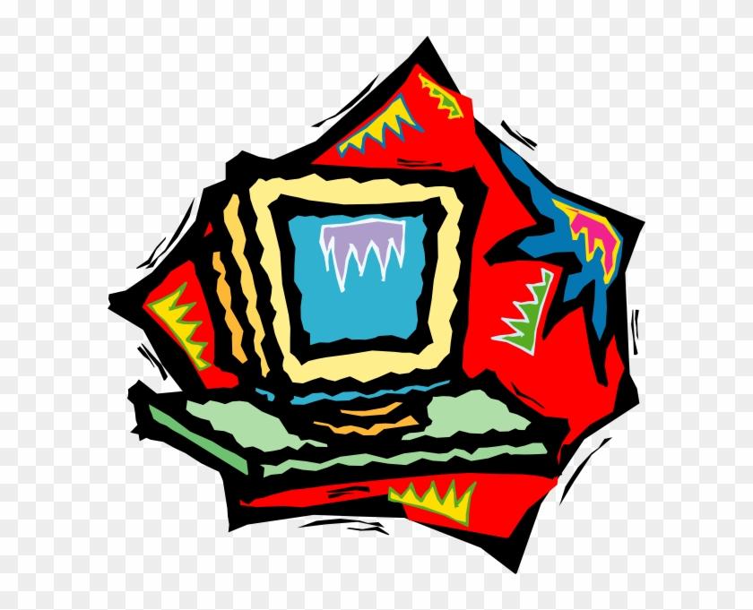 Funky Computer Art Clip Art - Funky Computer Art Clip Art #122256