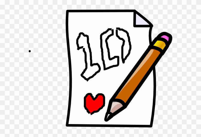 Writing A Letter Clip Art #122305