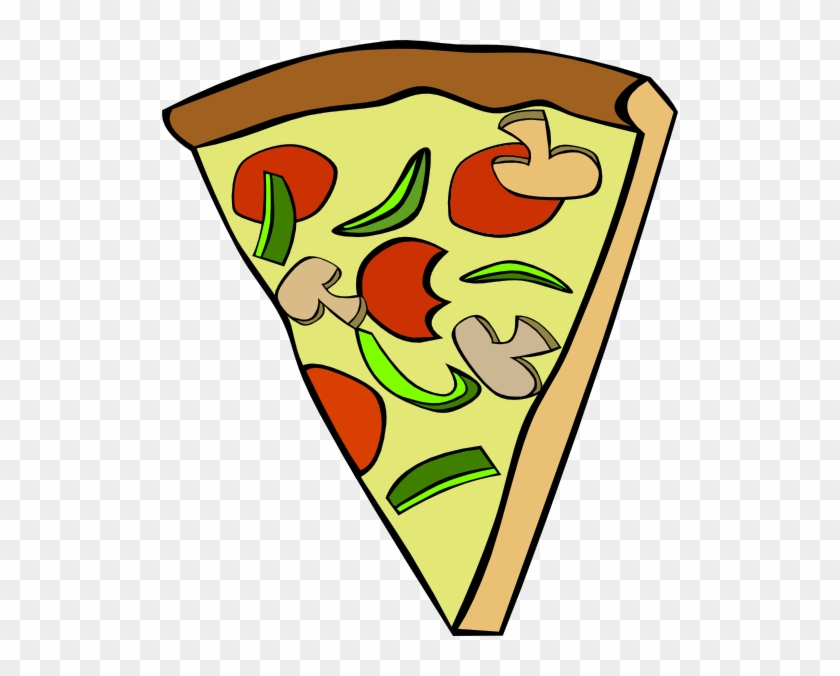 Pizza Clip Art - Triangle Pizza Clipart #122352