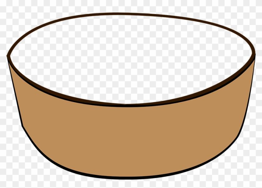 Bowl Clipart Transparent - Cartoon Bowl Transparent #122402