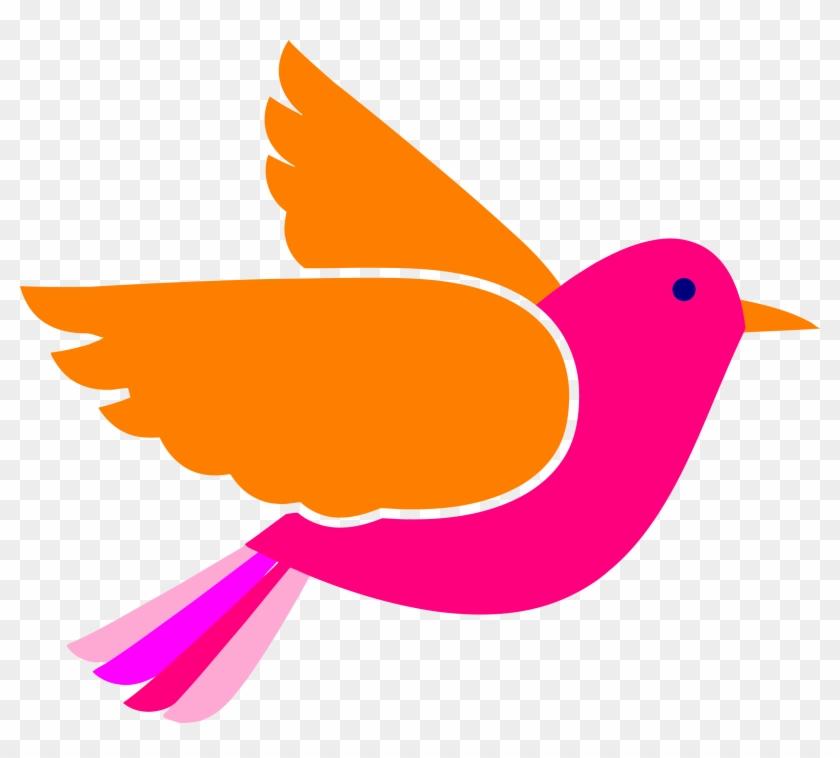 Bird Face Clip Art Pink Birds Png - Blue Bird Clip Art #122454