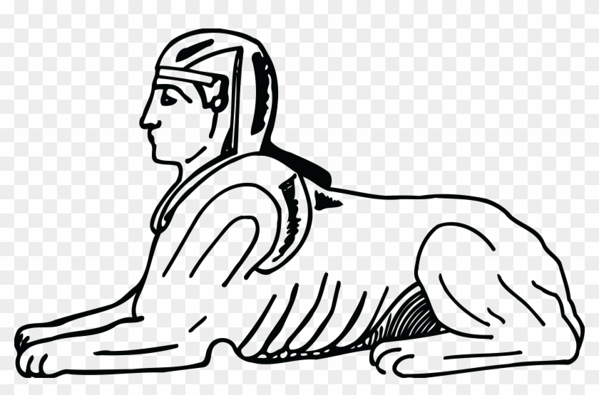 Free Clipart Of An Egyptian Sphinx - Sphinx Clip Art #122547