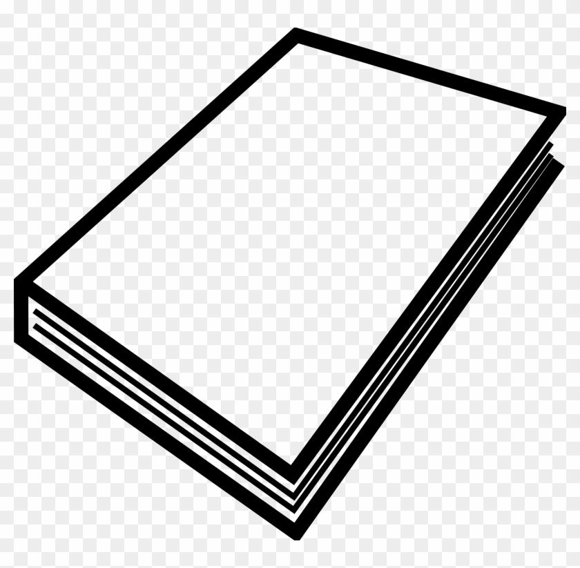 Closed Book Clip Art #122561