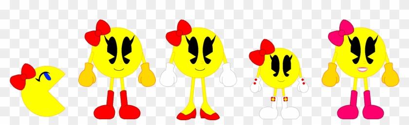 Banana Clipart Pacman - Ms Pacman X Pac N Roll #122700