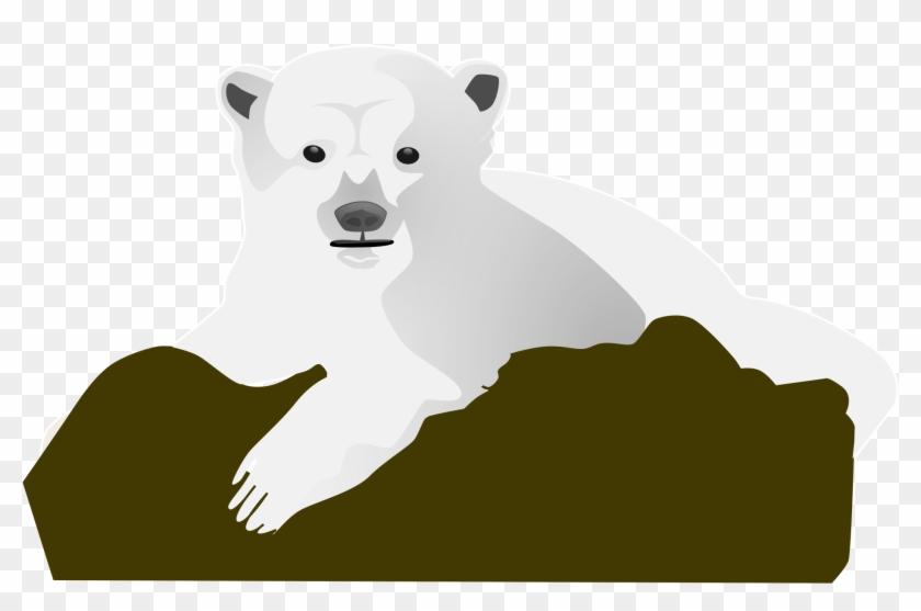 Open - Polar Bear Clip Art #122779