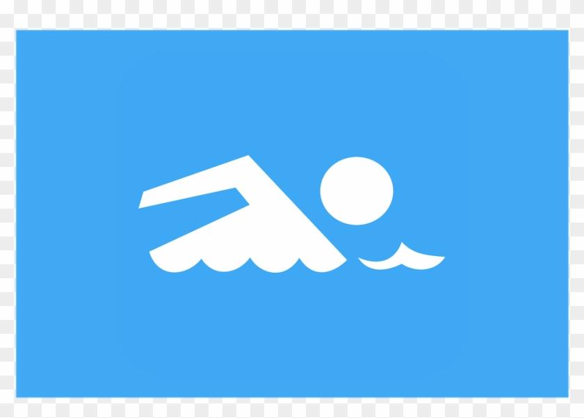 Clip Art Swimming Sport Sea Pool Water Swim - Skin Decal For Lifeproof Nuud Apple Iphone Se Case #122781