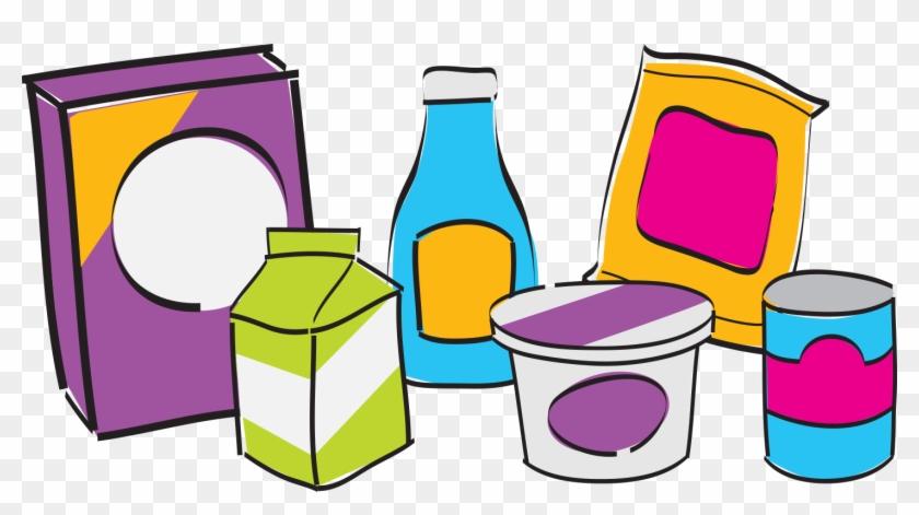 Food Label Clip Art #122879