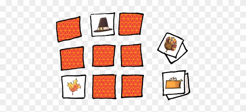 Memory Game Cliparts - Mémory Clipart #122991
