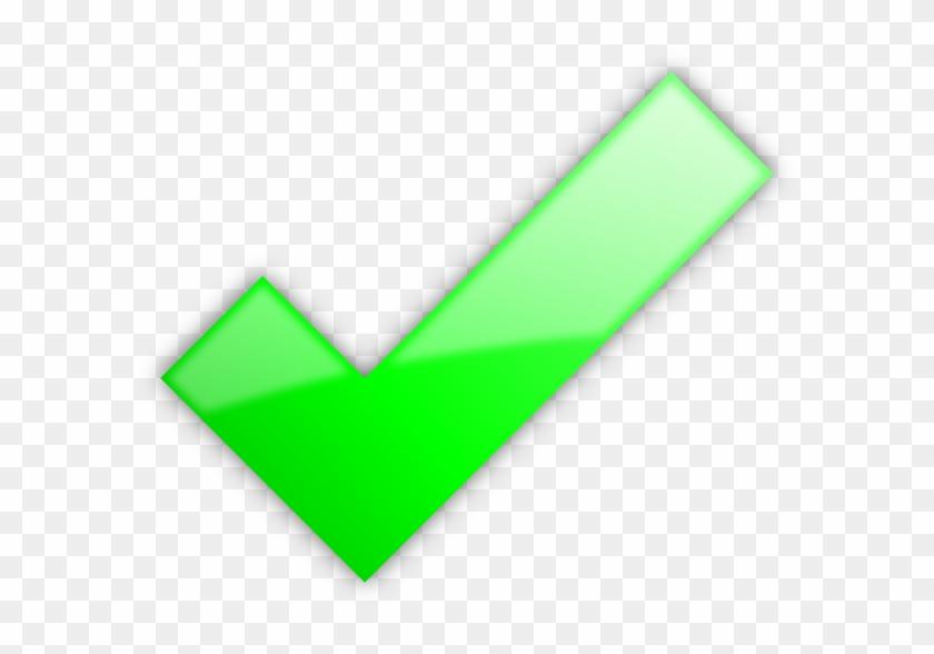Powerpoint Check Mark - Big Green Check Mark #122999