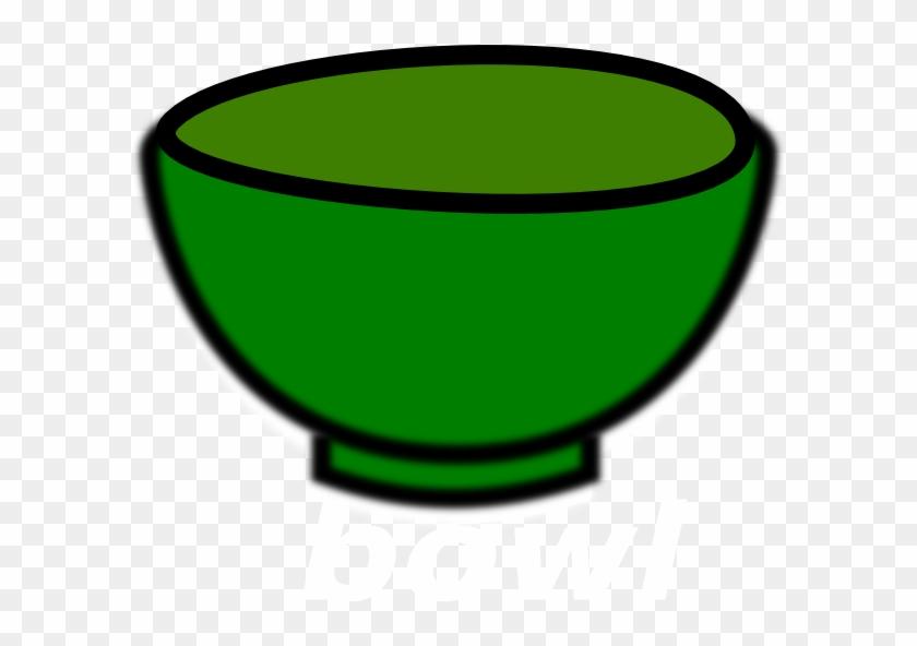 Bowl Clip Art - Green Bowl Clipart #123052