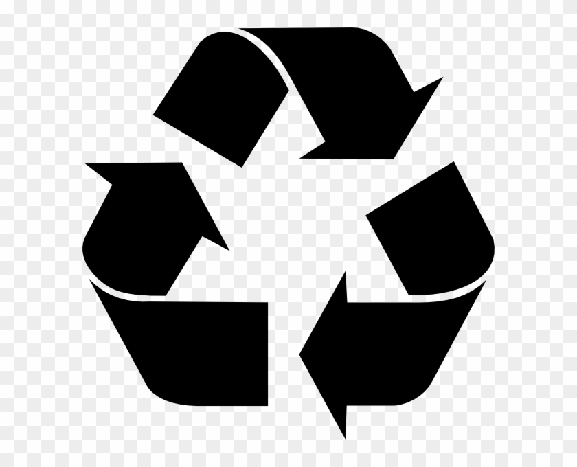 Free Vector Recycling Symbol Clip Art - Recycle Icon #123278