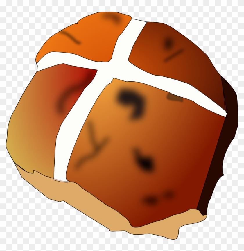 Bakery Clip Art Download - Hot Cross Bun Clipart #123324