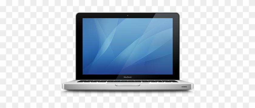 Apple Laptop Computer Clip Art - Geforce 8600m Gt Macbook Pro #123453