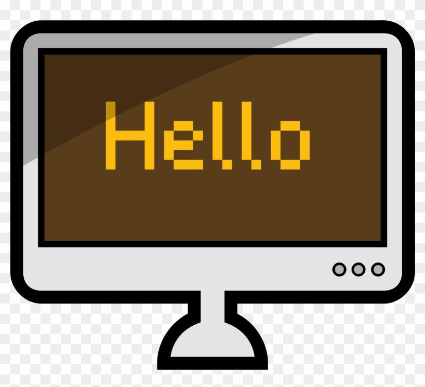 Big Image - Cute Computer Clip Art #123485
