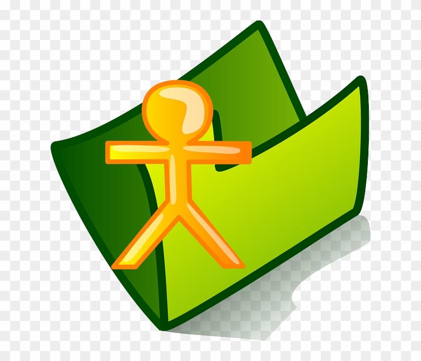 Person Icon, User, Folder, Theme, Personal, Person - Archivo De Recursos Humanos #123556