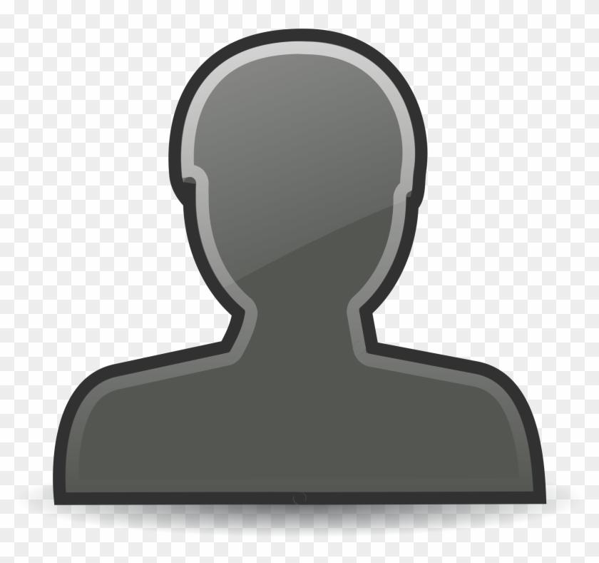 Clip Art Clip Art Person Outline - Outline Person #123568