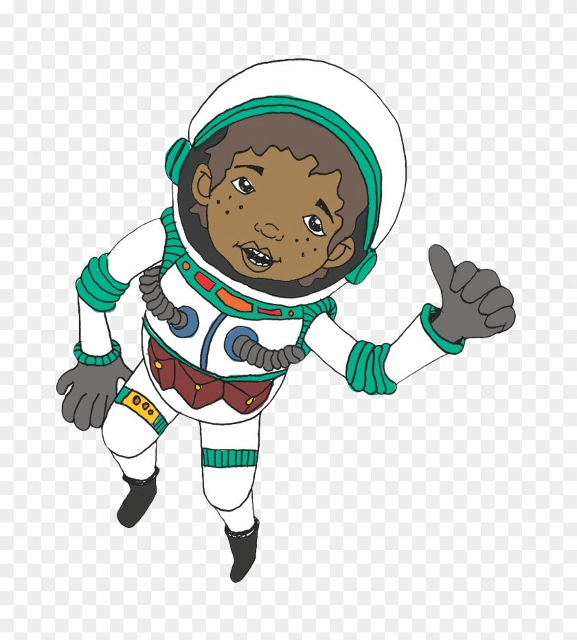 Campaign Characters - Astronaut Cartoon Png Transparent #123598