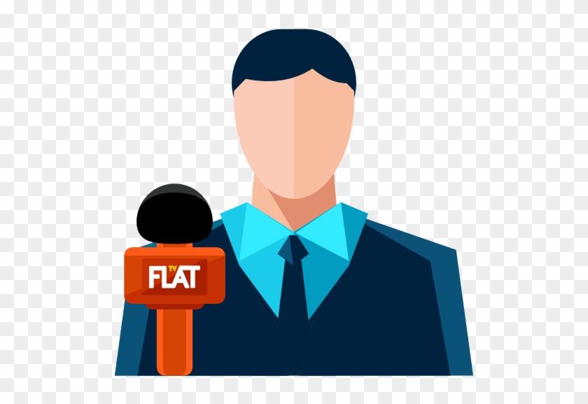 News Reporter - Reporter Icon #123739