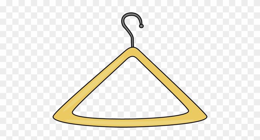 Clothes Hanger Clip Art - Clothes Hanger Clipart #123834