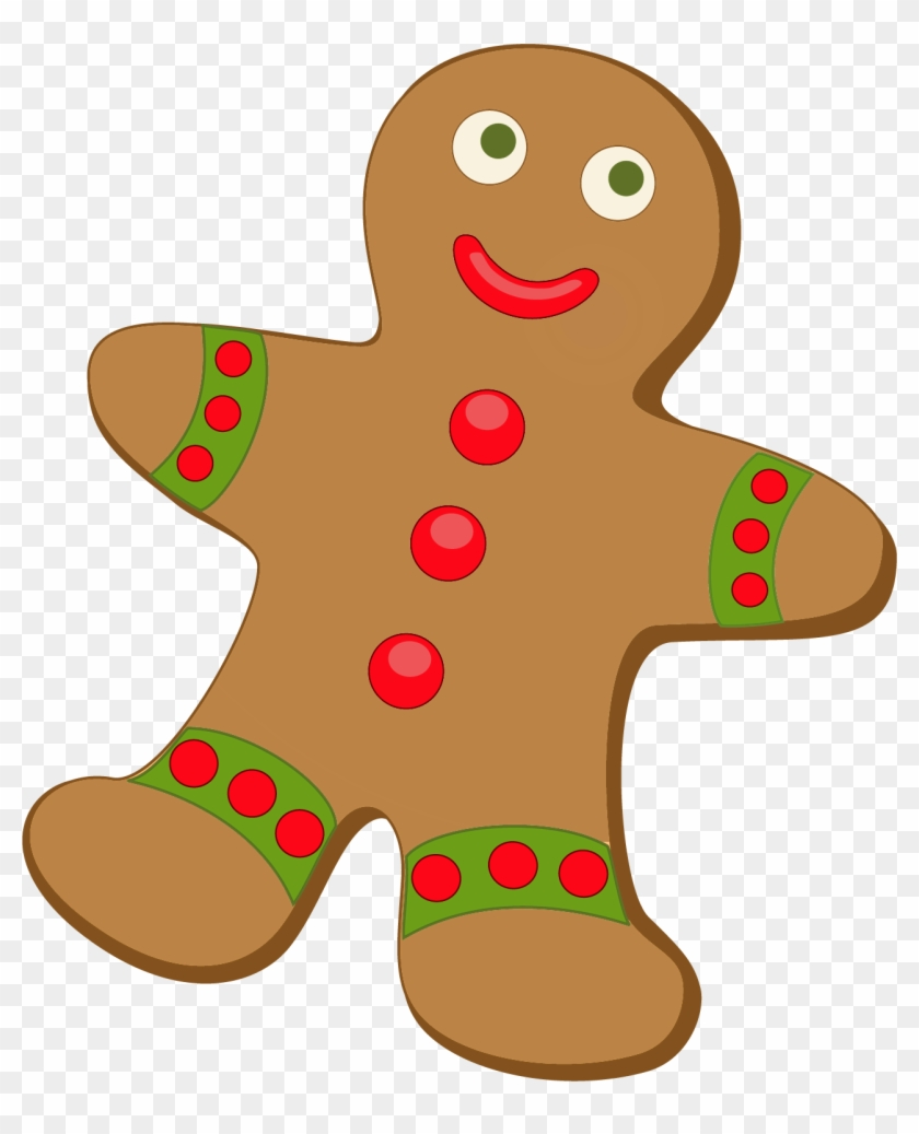 Christmas Gingerbread Cliparts - Gingerbread Clipart #123894
