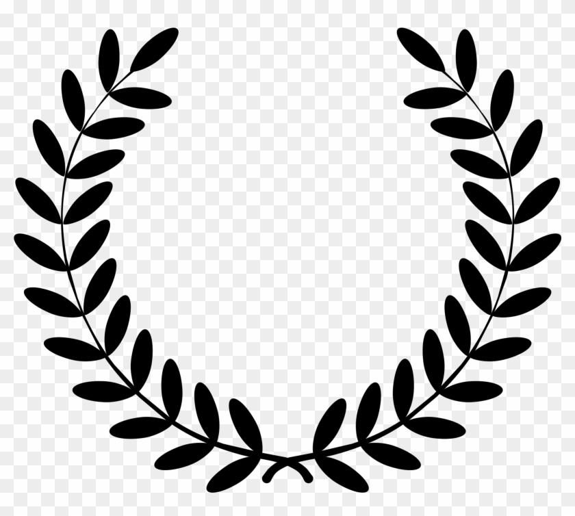 Wreath Clipart Service Award - Laurel Wreath Clipart #124142