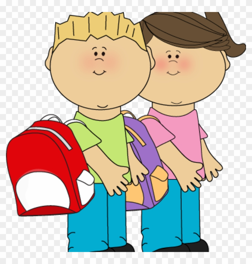 Go To School Clipart Kids Going To School Clip Art - Computer Awards For Students #124321