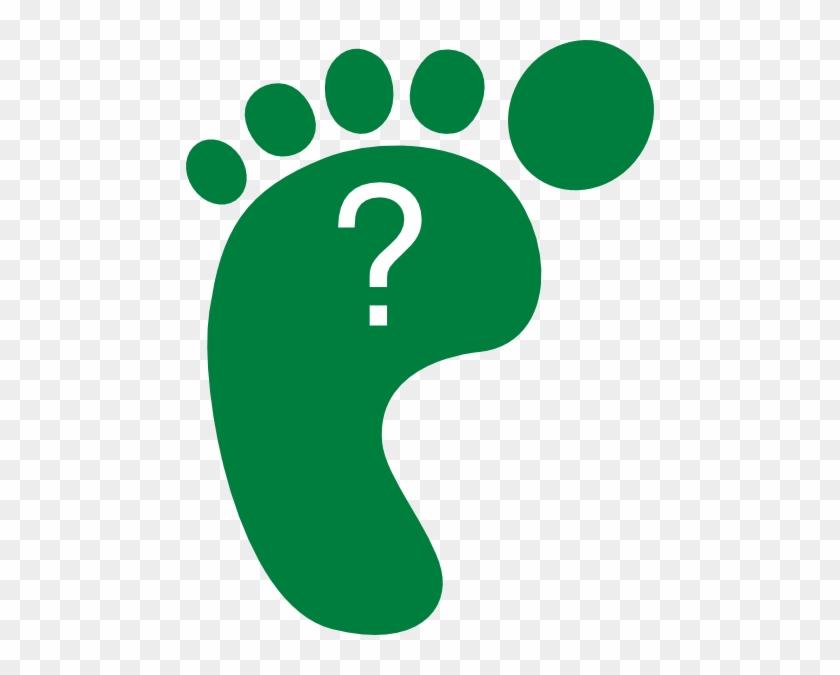 Go Green Clipart Free Clip Art Images - Green Footprint Clipart #124340