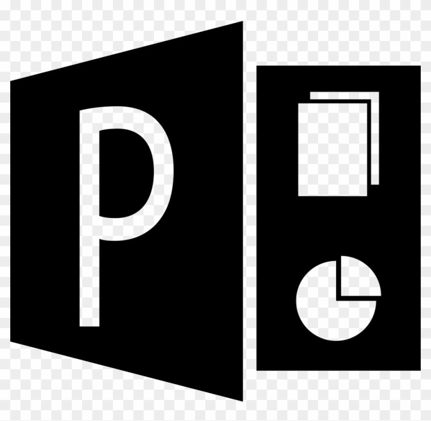 Size - Microsoft Powerpoint Logo Vector #124372