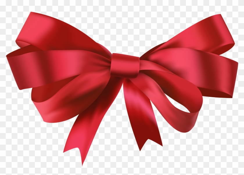 Red Bow Png Clipart - Red Bow Png #124459