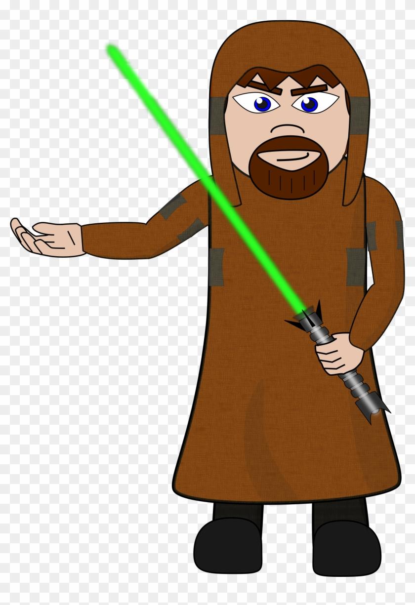 Free Stock Photo Of Jedi Knight Vector Clipart - Free Stock Photo Of Jedi Knight Vector Clipart #124500