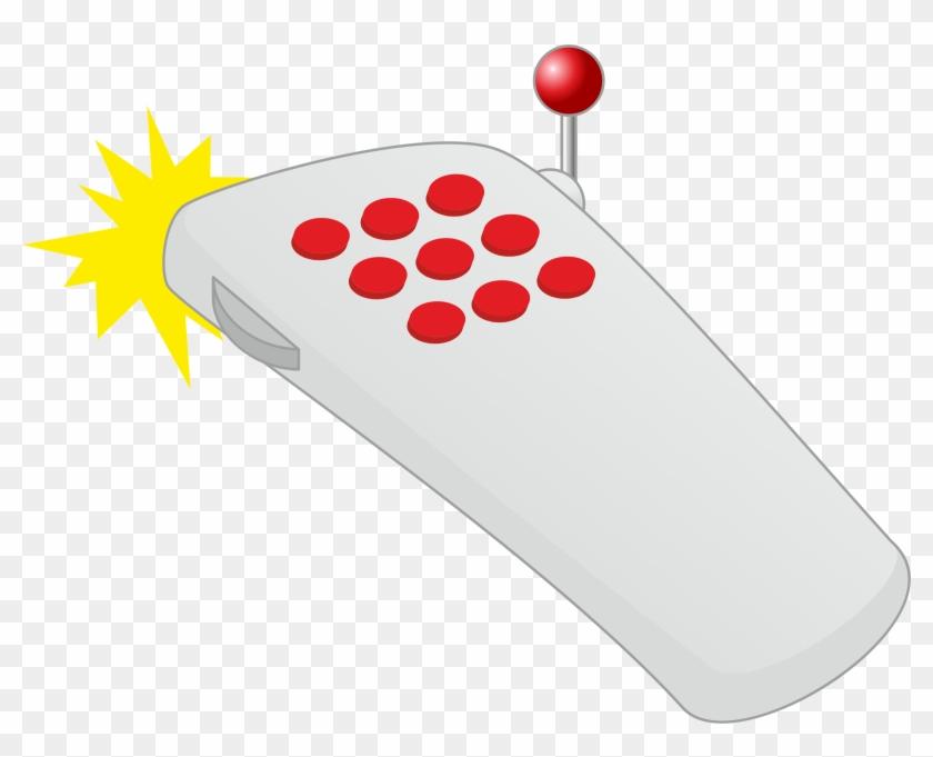 Control Complex - Remote Control Clipart Png #124499