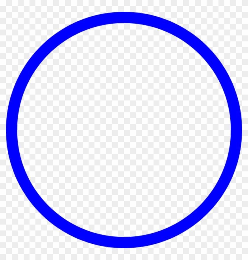 This Free Clip Arts Design Of Blue Circle Vector - Circle #124525