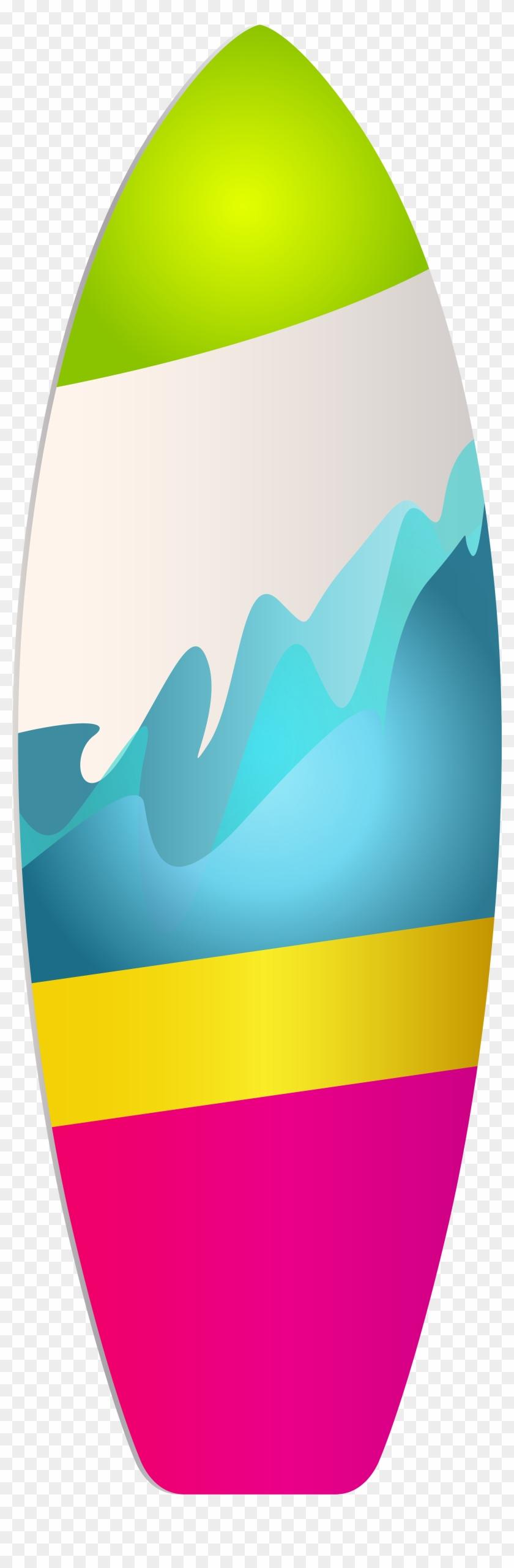 Surf Board Png Clip Art - Surf Board Clip Art Png #124586