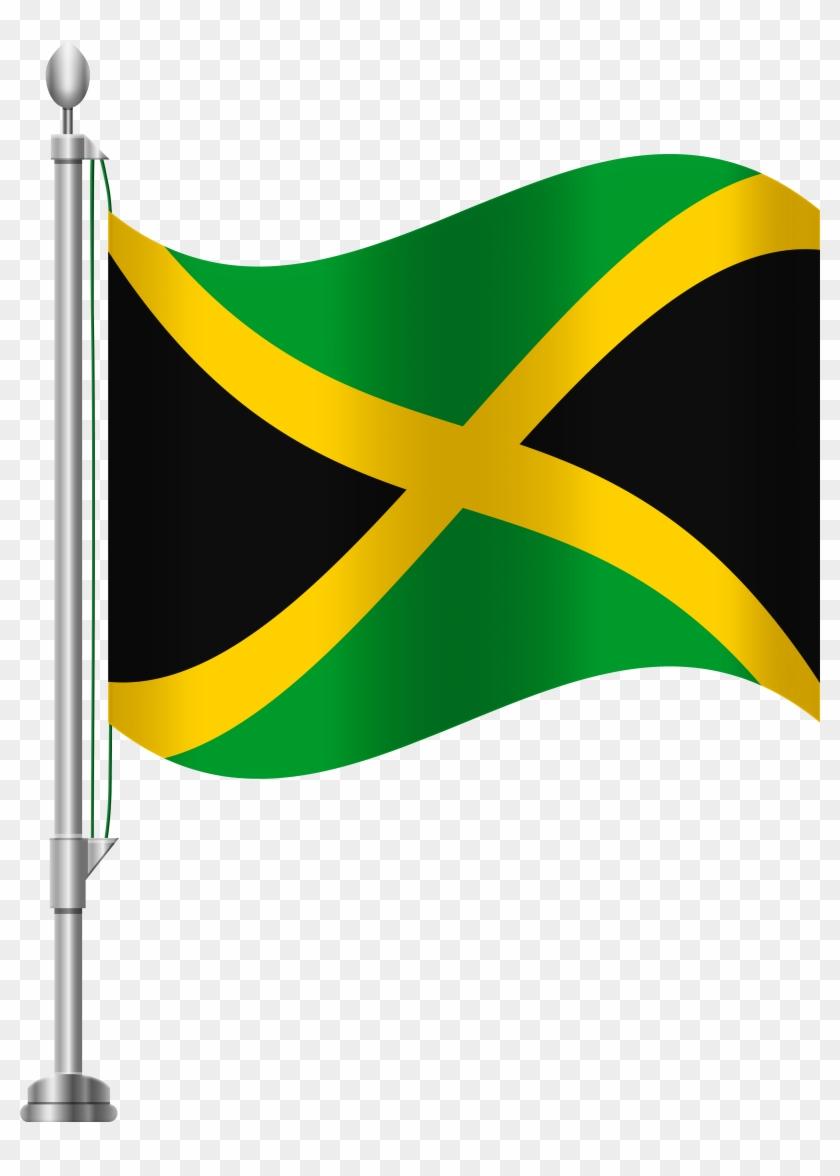 Jamaica Flag Png Clip Art - Jamaica Flag Png Clip Art #124791