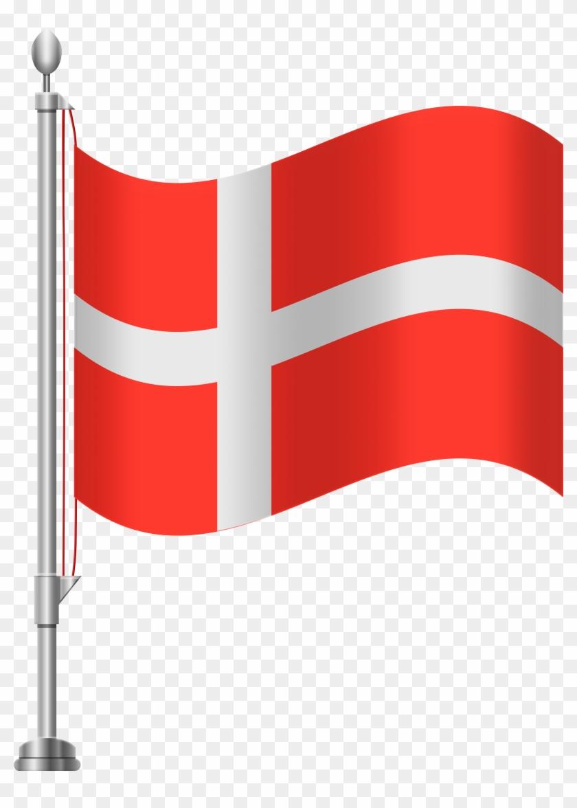 Denmark Flag Png Clip Art - Denmark Flag Png Clip Art #124874