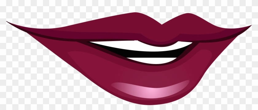 Smiling Mouth Png Clip Art - Smiling Lips Clip Art #124978