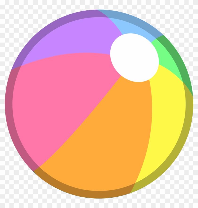 Beach Ball Body Mini - Beach Ball Png #124994