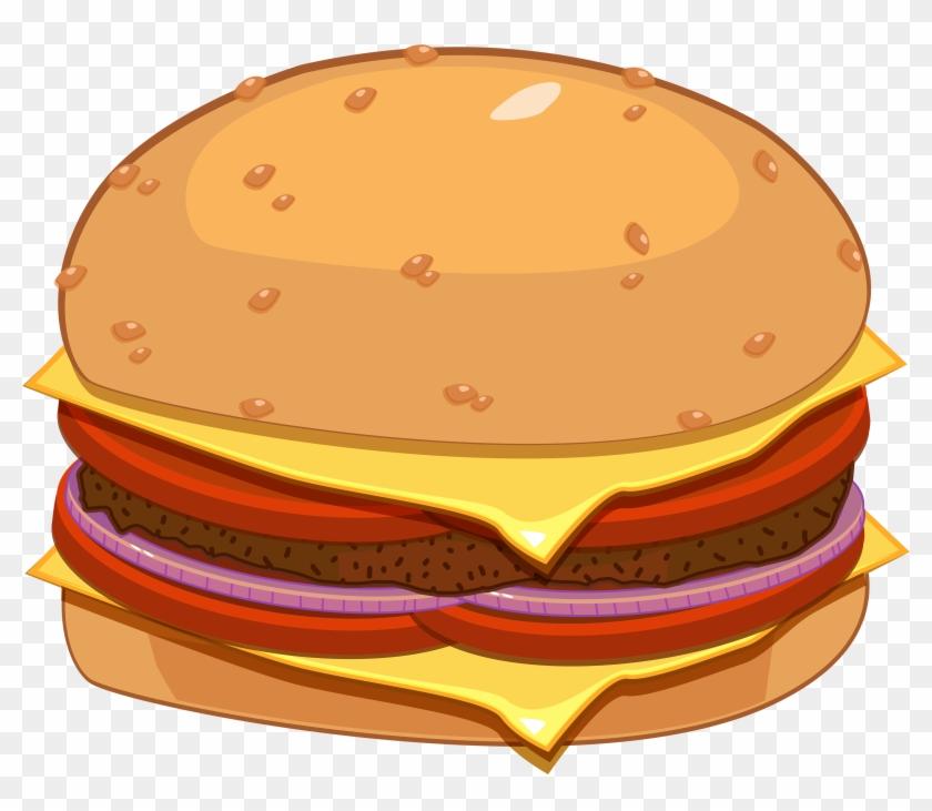 Hamburger Png Clipart - Hamburger Png #125188