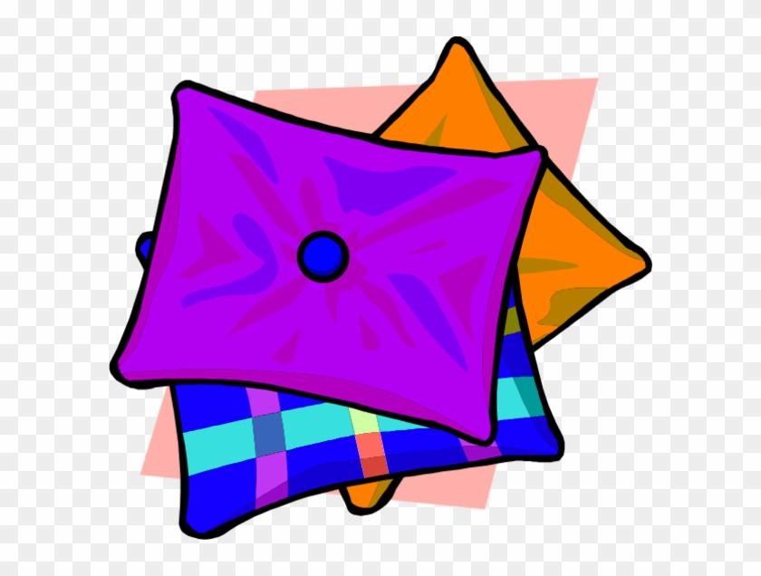 Cushion Clipart - Pillows Clip Art #125212