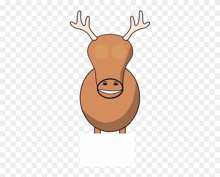 Reindeer Still No Idea Clip Art - Clip Art #125278