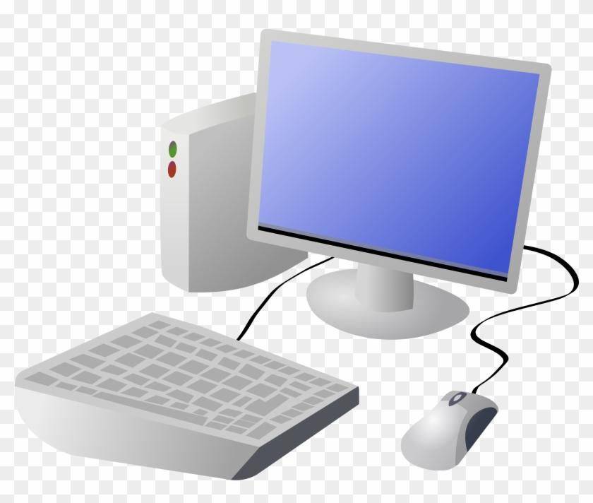 Computer Cartoonputer Free Download Clip Art On - Cartoon Computer #125394