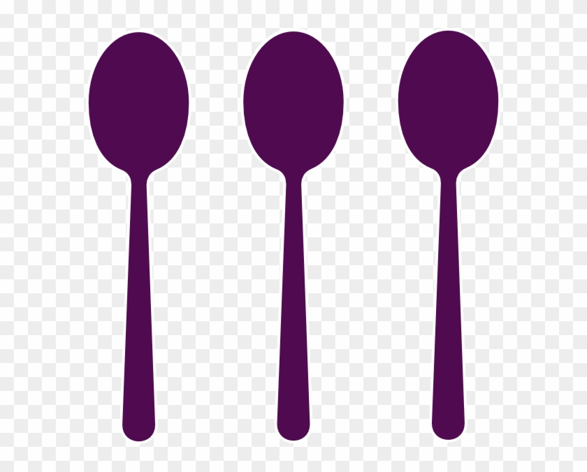 Spoon Site Clip Art At Clker - 3 Spoon Clipart #125395