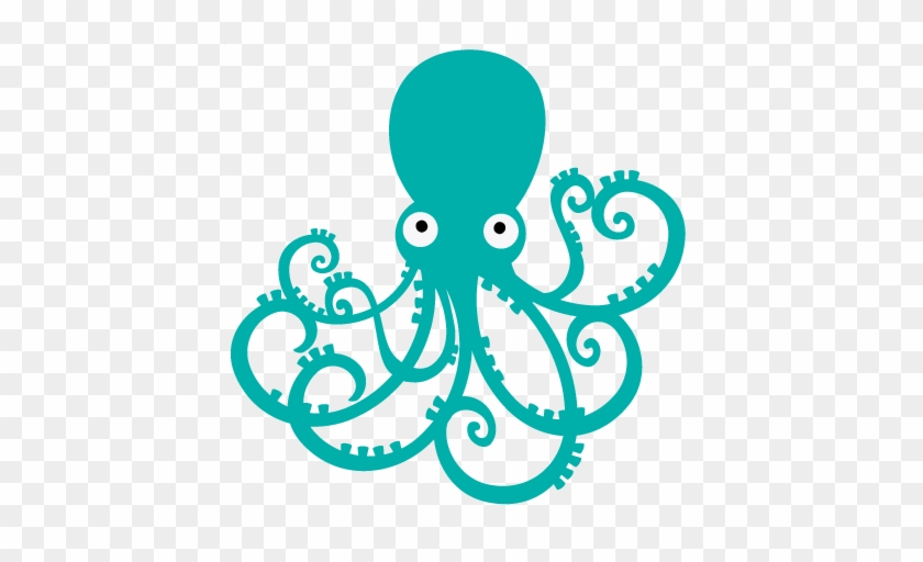Octopus Png Transparent Images - Octopus Clipart Png #125402