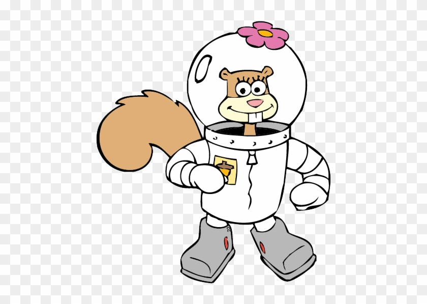 About - Sandy Cheeks Coloring Pages #125632